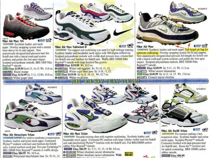 "c846033ca92 (classic ads including the Air Max 98 ""OG"" – pics via east bay – featured  pic via nike.com)"