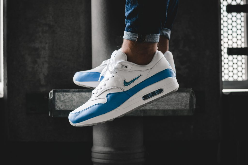 "On Foot: Nike Air Max 1 Premium SC Jewel ""University Blue"""