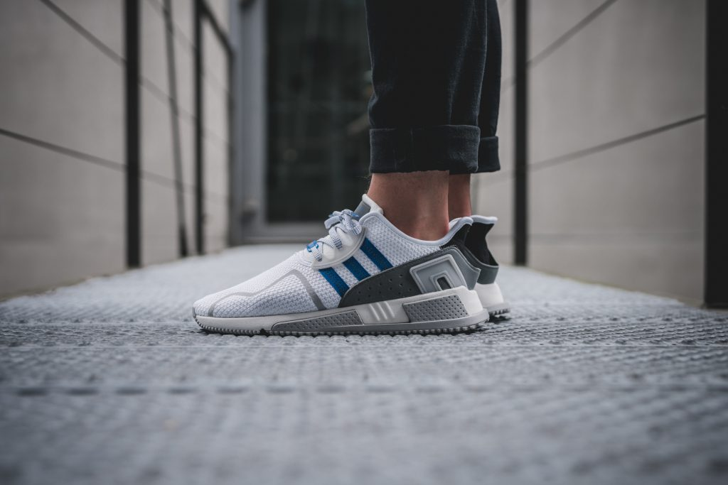 cd58dd11f8e The green version of the adidas EQT Cushion ADV will be available in Europa  only. adidas Originals flagship stores and selected retailers such as  Solebox ...