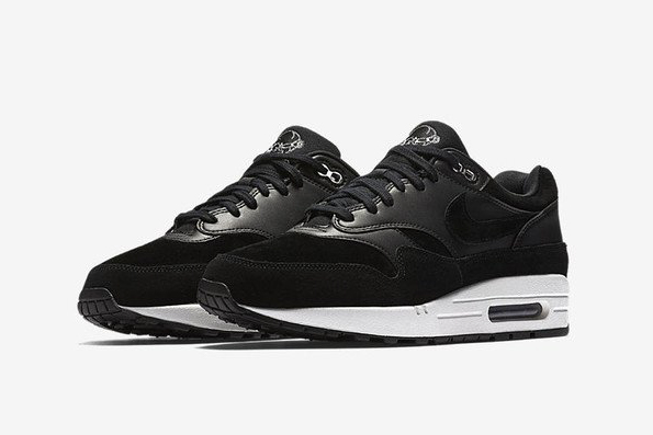 Nike Air Max 1 PRM Black Suede