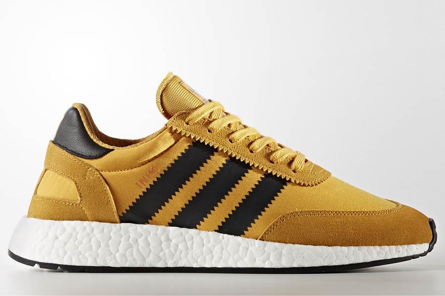 adidas Originals Iniki Boost Runner Goldenrod 8a8f4d921