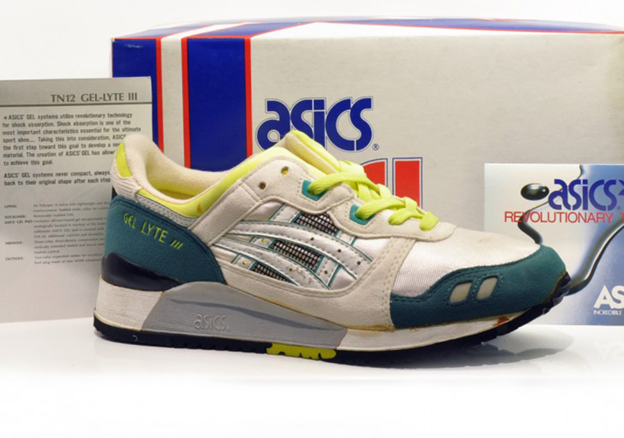 History Check – Asics GEL Lyte from 1987 to 2017