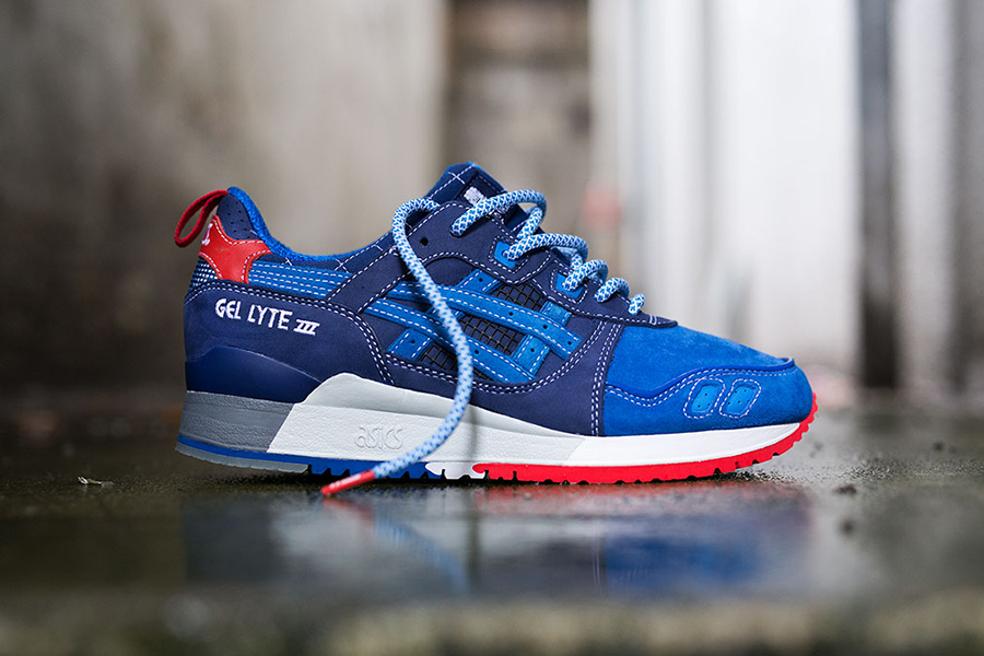 a7eb3ce140e5 This January 2015 release in collaboration with Japanese sneaker store Mita  kicked off festivities for the Asics GEL-Lyte III s 25th anniversary.