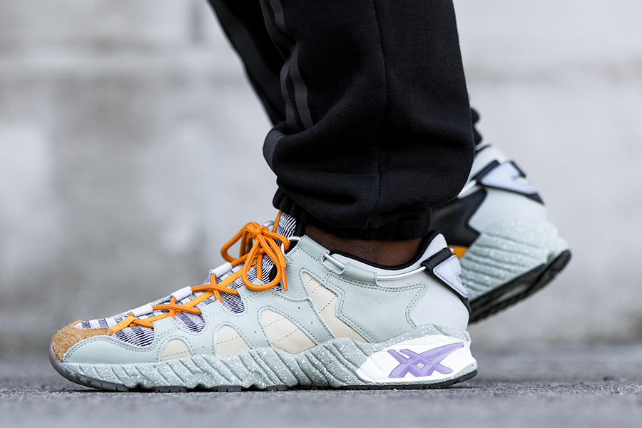 """Viento Canal Lágrima  Bodega x ASICS Tiger GEL-MAI """"Underground"""" – Release Date & On-Feet Images  - Sneakers Magazine"""