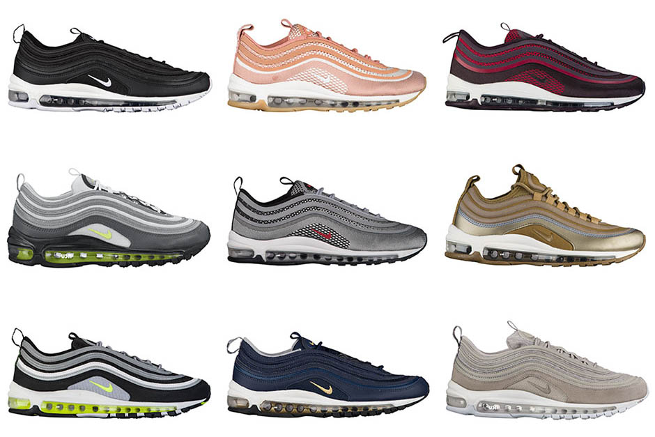 20 upcoming Nike Air Max 97 Colorways