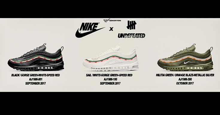 A First Look at the UNDFT x Nike Air Max 97 Sneakers Magazine