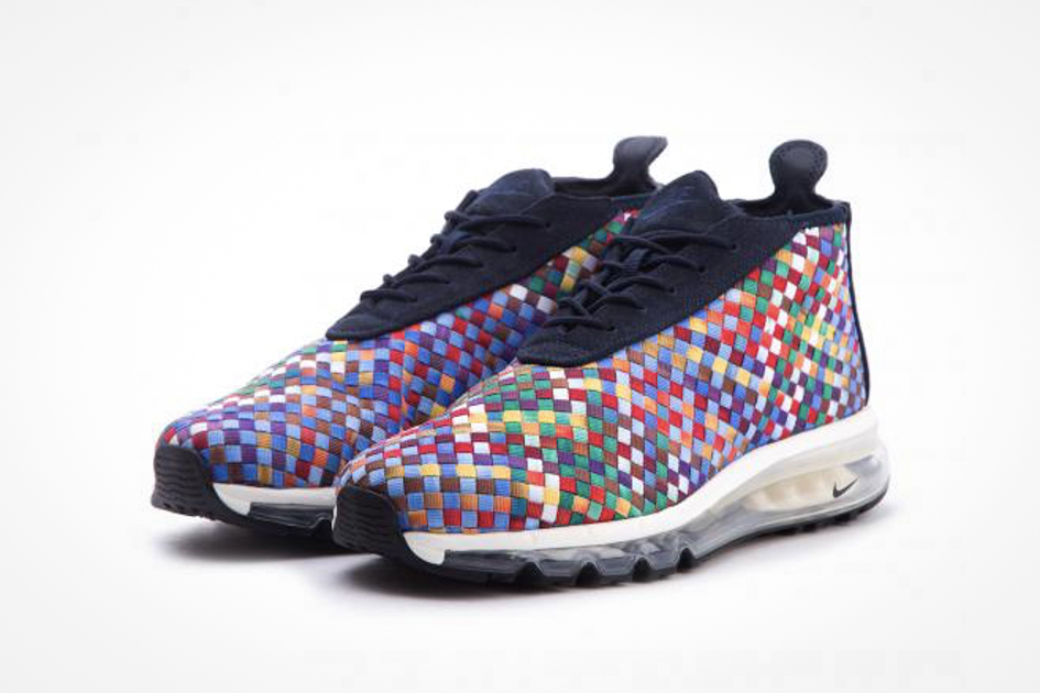 eb52d84009 Nike Releases a Multicolor Air Max Woven Boot - Sneakers Magazine
