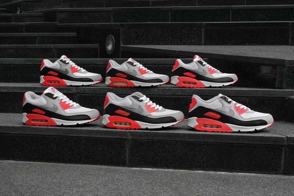 An Icon Of Color Nike Air Max 90 Infrared Sneakers Magazine