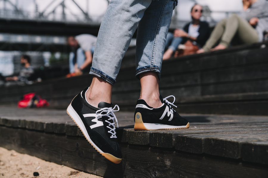 """ae2f68b61a99a What really set the shoe apart was the patented Karhu Air Cushion midsole.  As the brand proudly said  """"Karhu was the first sports brand to develop a  midsole ..."""