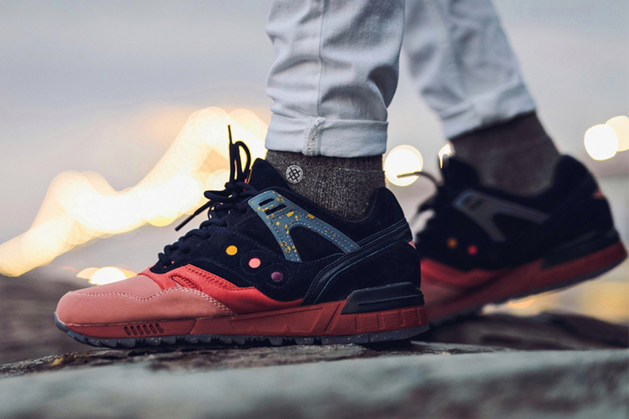 """Saucony SELECT Grid SD """"Summer Nights"""