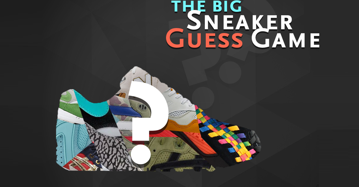 The Big Sneaker Guess Game Sneakers