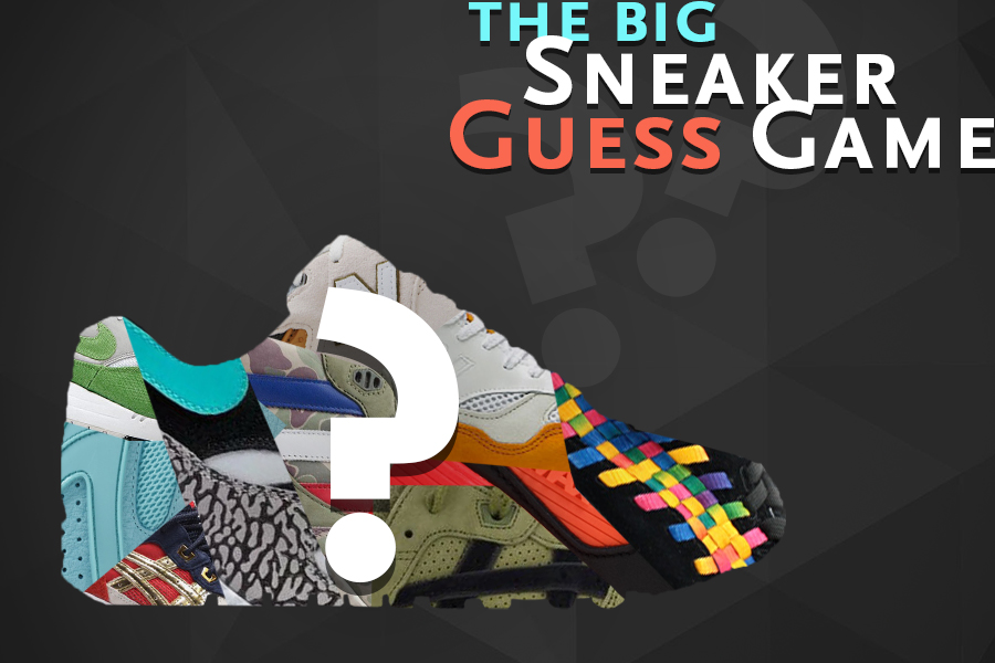 The Big Sneaker Guess Game