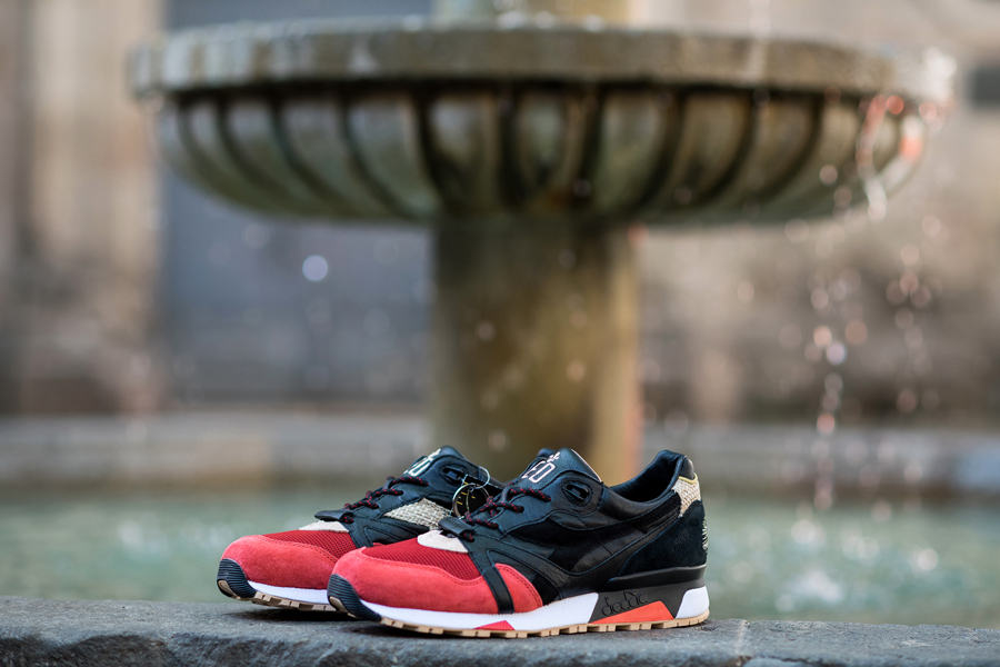 LimitEDitions x Diadora N9000  Correfocs  (Release) - Sneakers Magazine df43c0f8b28