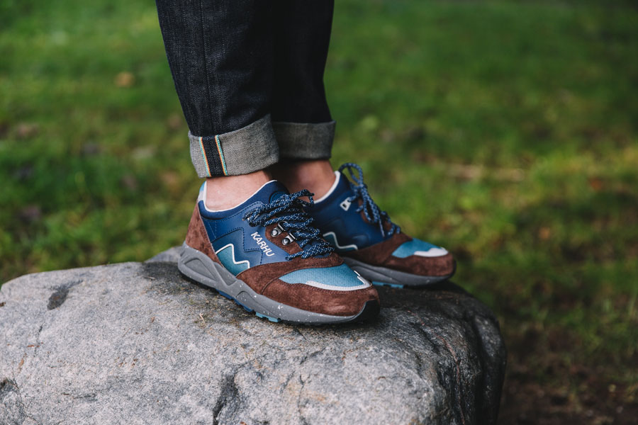 Karhu Outdoor Pack Part II - F803023 – Aria (Friar / Poseidon) - On feet