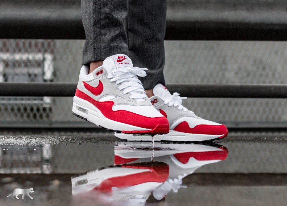 "aceda28cd82bc7 The Nike Air Max 1 OG ""Anniversary"" will be released on September 23 via  selected retailers such as Asphaltgold"