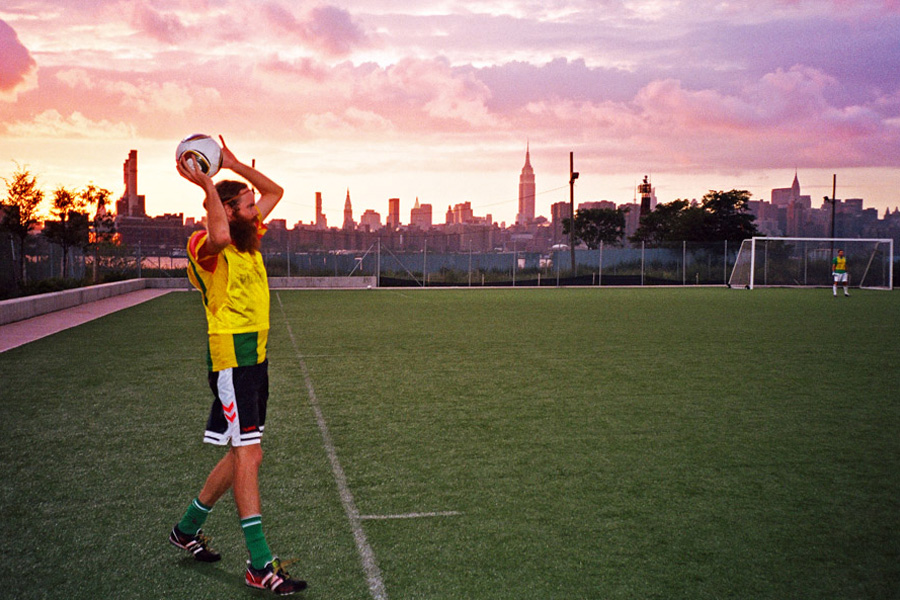Chinatown Soccer Club - Peter Sutherland by Kevin Trageser, Brooklyn (2012)