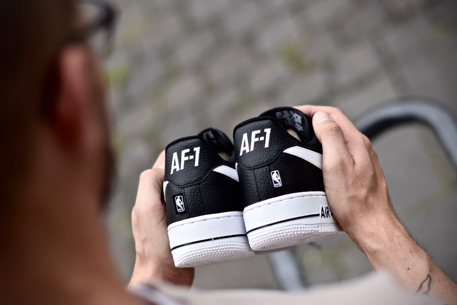 35 Years of Nike Air Force 1 - Dead Stock Sneakerblog (Heel)