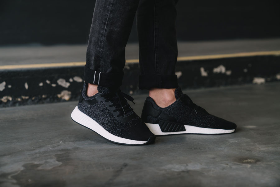 adidas Originals by wings + horns AW 2017 - NMD_R2 (On feet)