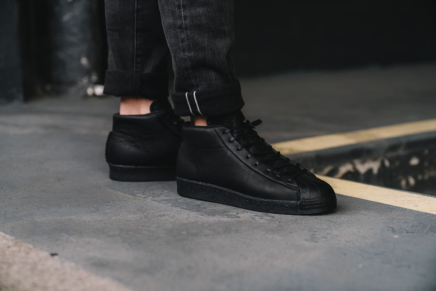 adidas Originals by wings + horns AW 2017 - Superstar Pro Model (On feet)