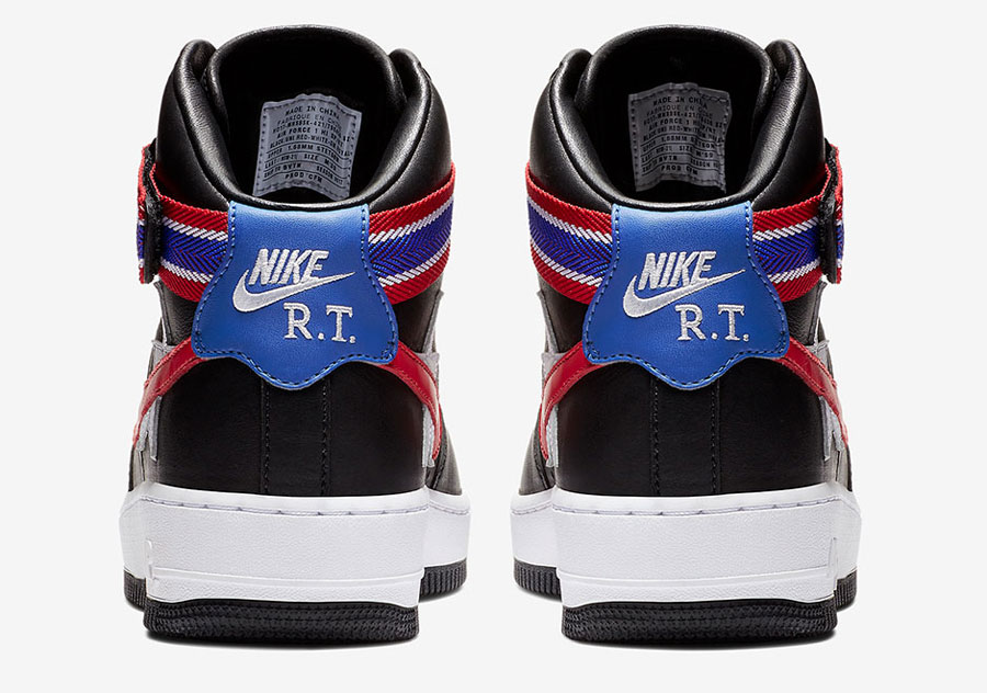 Riccardo Tisci x Nike Lab Victorious Minotaurs - Nike Air Force 1 Black (Back)