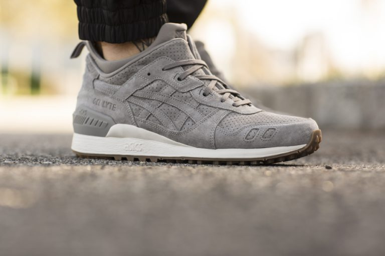 ASICS TIGER GEL-LYTE MT (Aluminium) - On feet