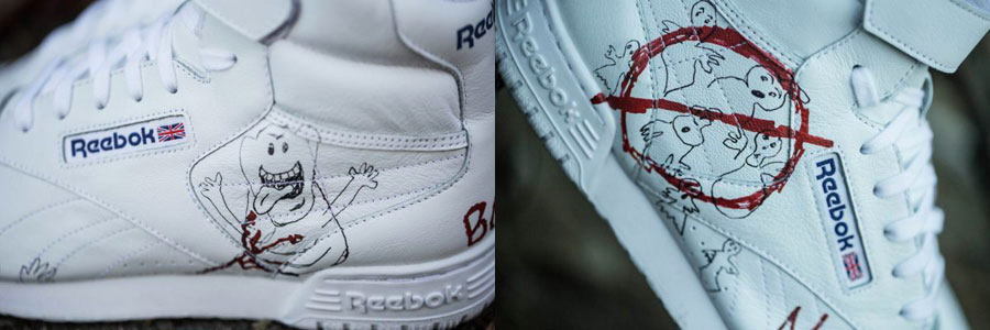 BAIT x Stranger Things x Reebok Ex-O-Fit (Detail)