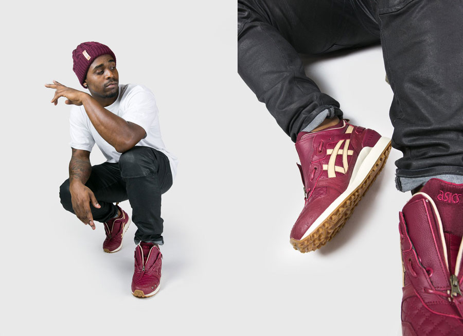 Extra Butter x Ghostface Killah x ASICS GEL-LYTE MT (Beanie)