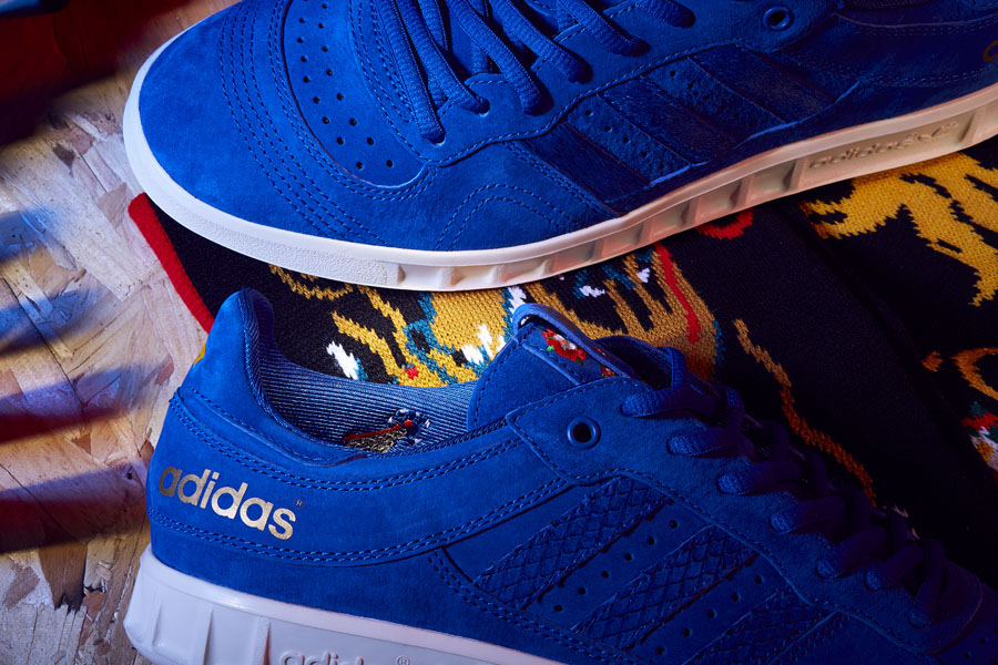 Juice x Footpatrol adidas Consortium Sneaker Exchange - Handball Top (Side)