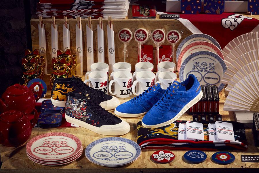 Juice x Footpatrol adidas Consortium Sneaker Exchange - Matchcourt Mid and Handball Top