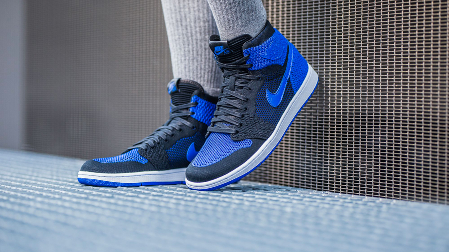 Sneaker Releases in October 2017 - Nike air Jordan 1 Retro High Flyknit Game Royal