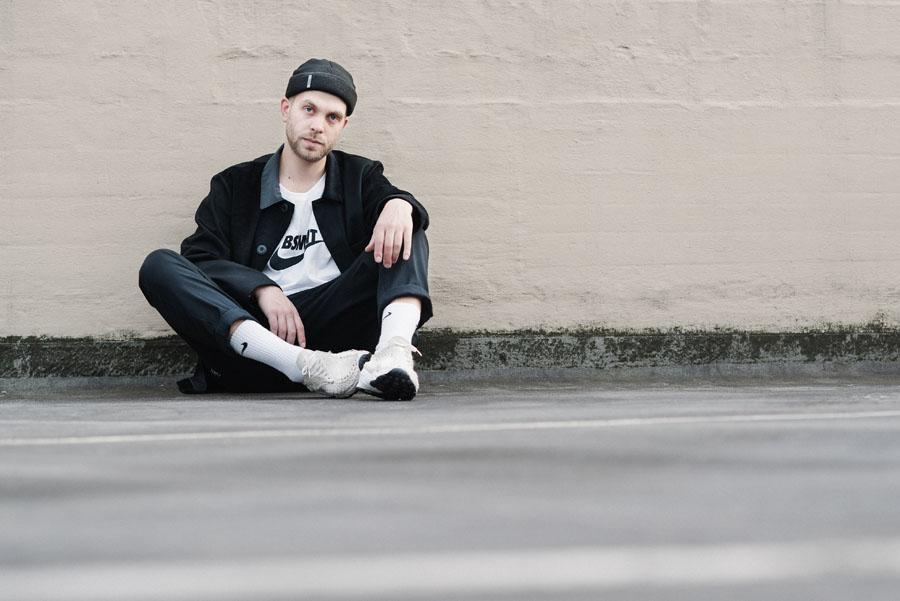 Nike Footscape collector Maik Lojewski - On feet