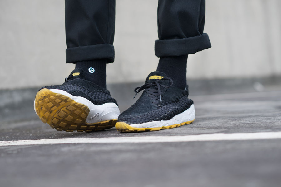 Nike Footscape collector Maik Lojewski - Woven Livestrong Edition