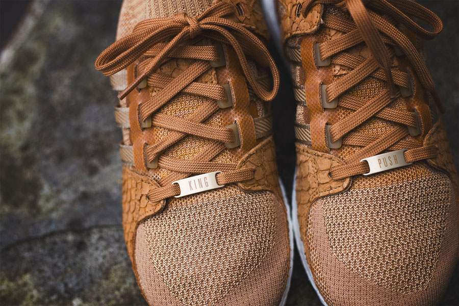 Pusha T x adidas EQT Support Ultra PK Brown Paper Bag (Lace tags)