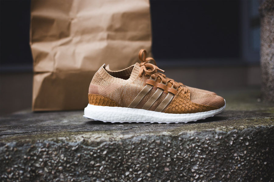 Pusha T x adidas EQT Support Ultra PK Brown Paper Bag (Side)