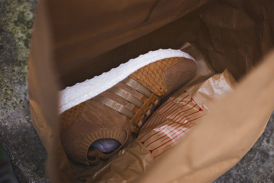 Pusha T x adidas EQT Support Ultra PK Brown Paper Bag (Sole)