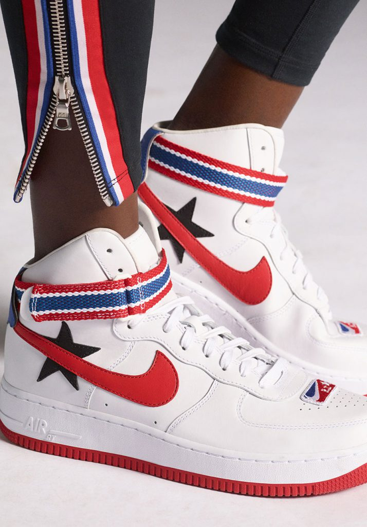 Riccardo Tisci x Nike Lab Victorious Minotaurs - Nike Air Force 1 White (On feet)