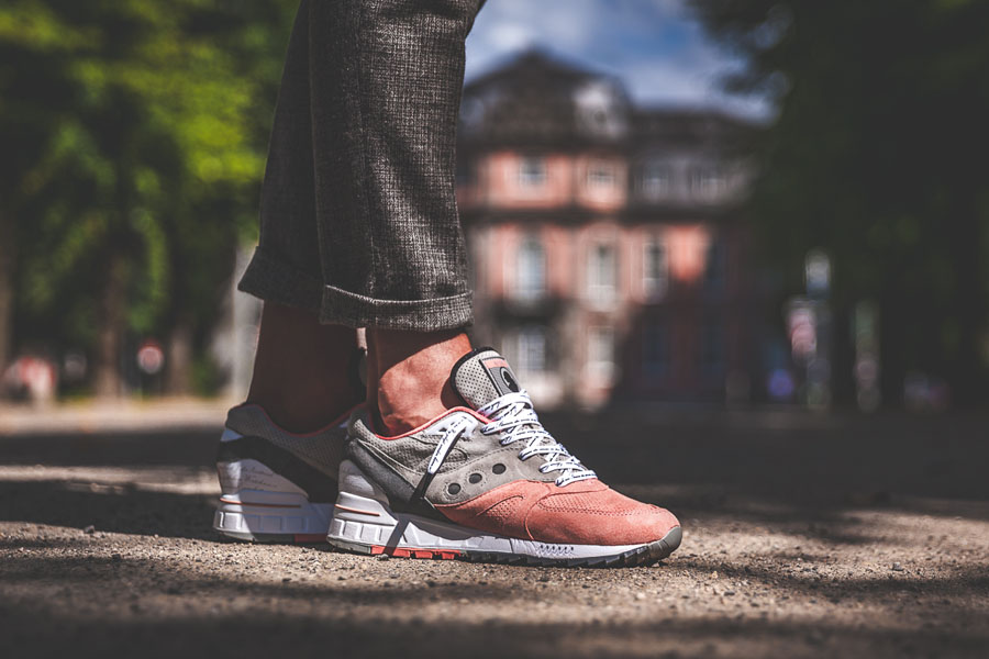 Afew x Saucony Shadow Master 5000 'Goethe' - On feet (Outside)