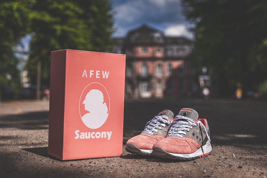 Afew x Saucony Shadow Master 5000 'Goethe' - Special Packaging