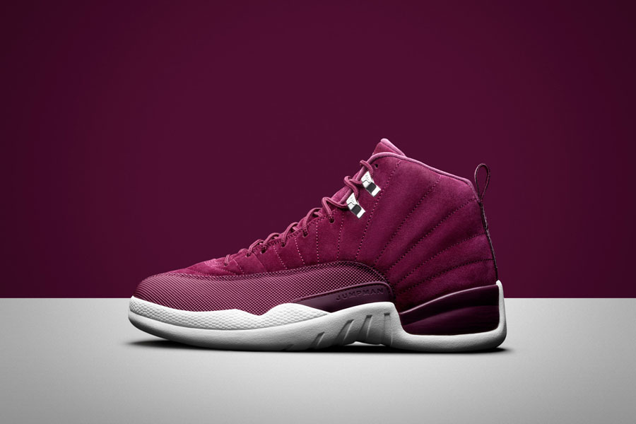 Sneaker Releases October 2017 - Nike Air Jordan 12 Retro Burgundy
