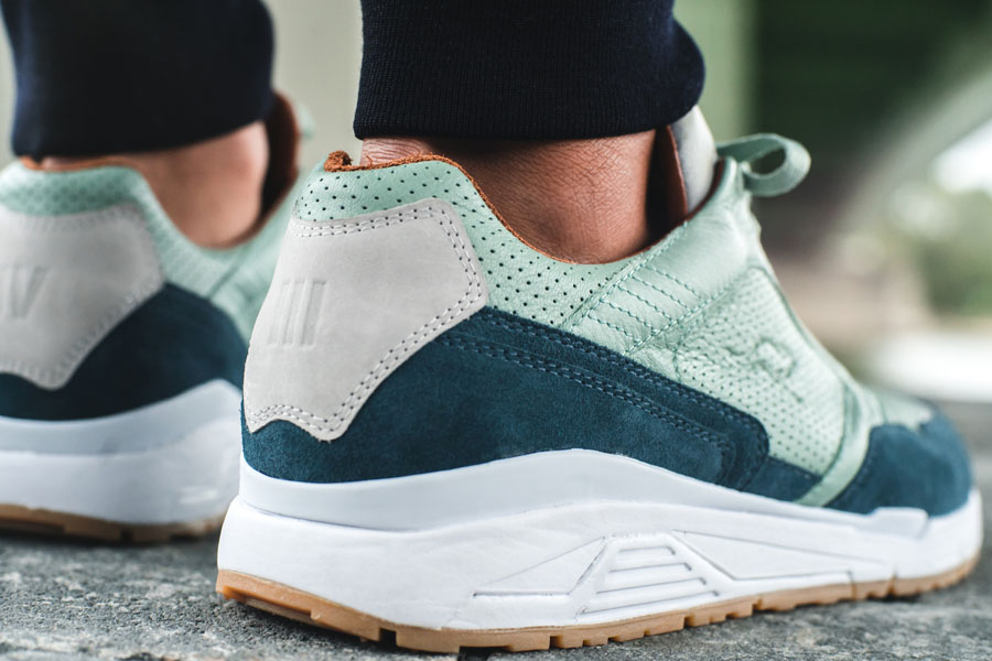 Sneakerness Cologne x KangaRoos Green Bridges - On feet (Heel)