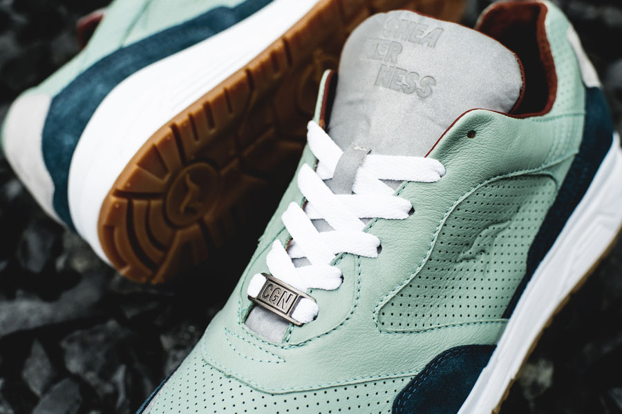 Sneakerness Cologne x KangaRoos Green Bridges - Lace tag