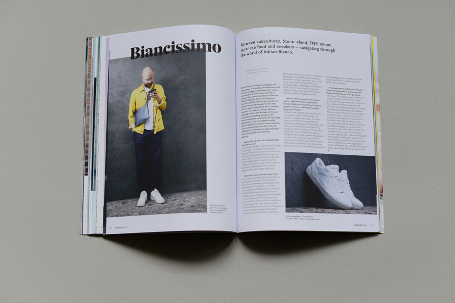 Sneakers Magazine #36 2017 - Adrian Bianco