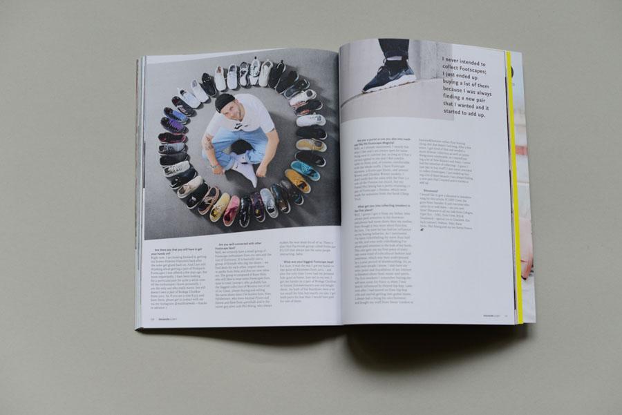 Sneakers Magazine #36 2017 - Nike Air Footscape (Maik)