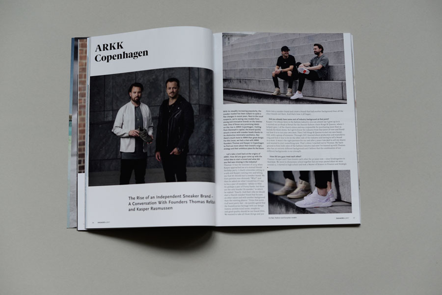 Sneakers Magazine #36 2017 - ARKK Copenhagen Interview