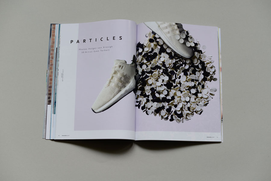 Sneakers Magazine #36 2017 - Particles Photoshoot