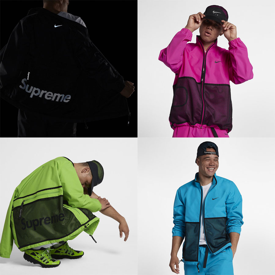 Supreme x Nike Air Humara 17 (Track Jackets)