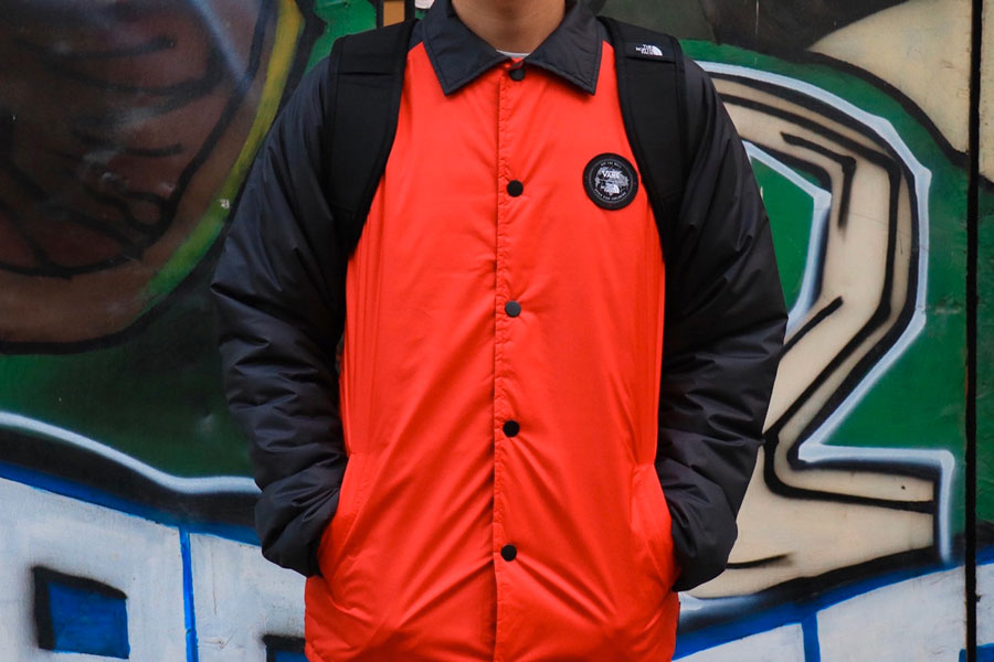 The North Face x VANS Fall 2017 Collection - Jacket (Black and Red)