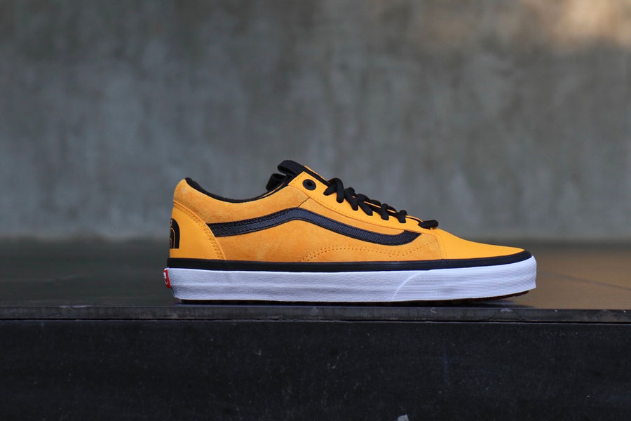 The North Face x VANS Fall 2017 Collection - Old Skool (Mustard Yellow)