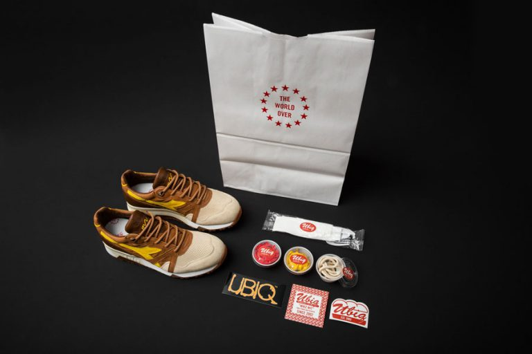 UBIQ x Diadora N9000 Whiz Wit (Custom packaging)