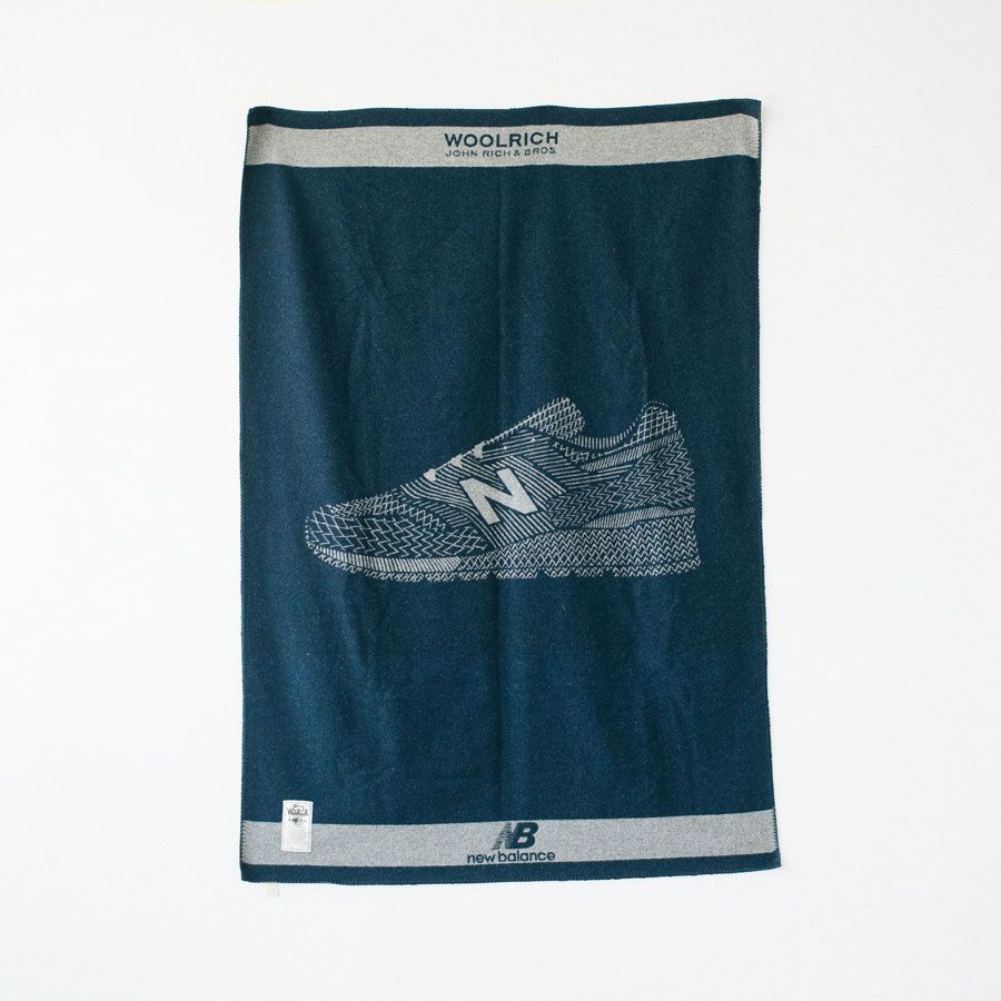 Woolrich x New Balance MADE US 997 (Jacquard Blanket)
